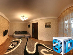 2-room apartment for rent in Zaporozhye: luxury studio, Pobedy street, 69
